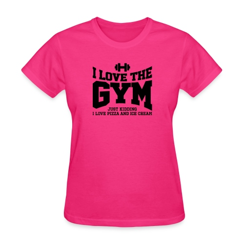 I love the gym - Women's T-Shirt
