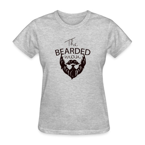 The bearded man - Women's T-Shirt