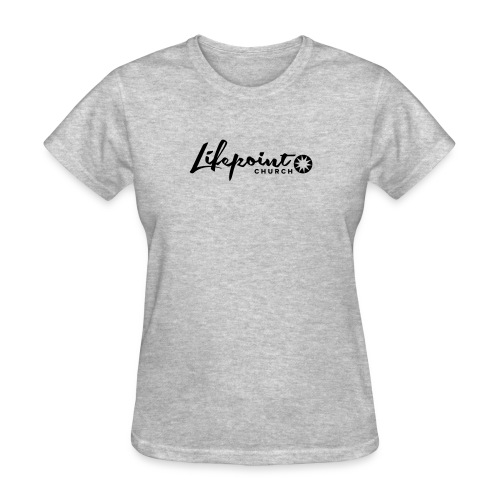 Logo Horizontal Black - Women's T-Shirt