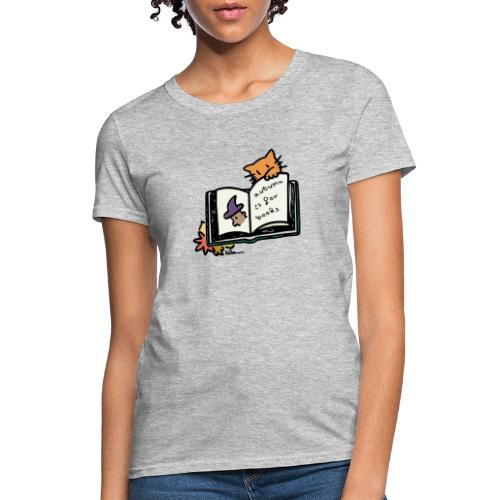 Autumn is for Books - Women's T-Shirt