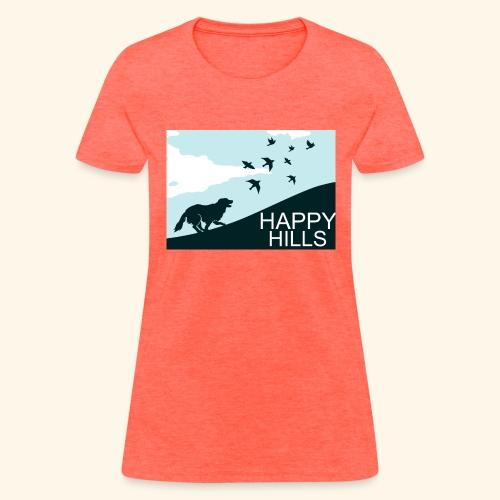 Happy hills - Women's T-Shirt