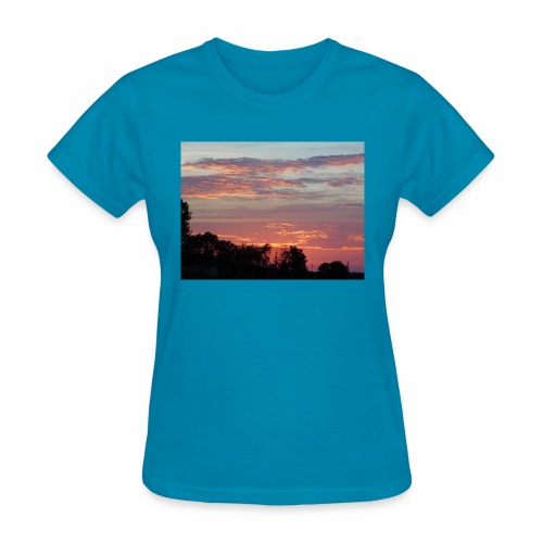 Sunset of Pastels - Women's T-Shirt