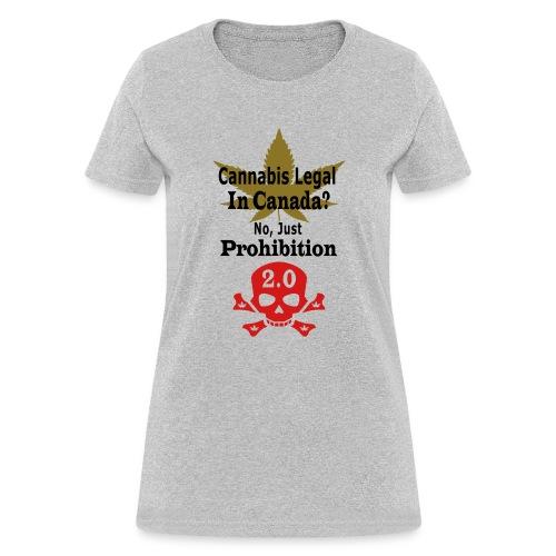 prohibition - Women's T-Shirt