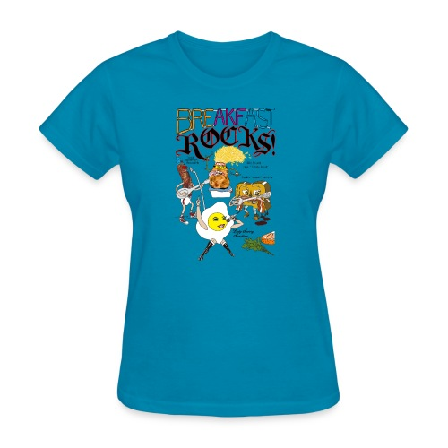 Breakfast Rocks! - Women's T-Shirt