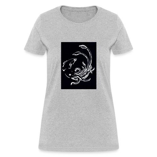 Red Devil - Womens Longsleeve Negative - Women's T-Shirt