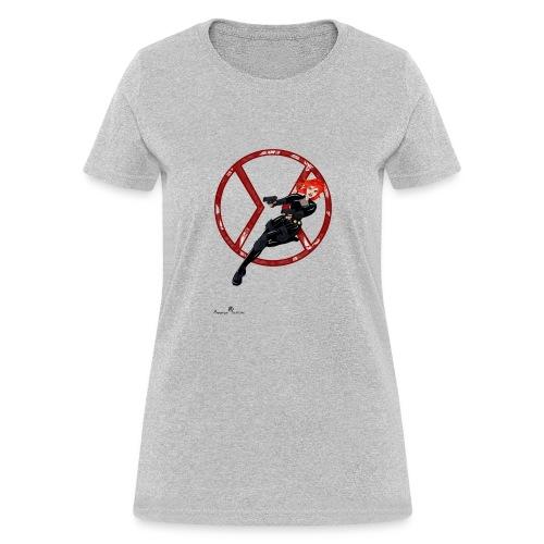 BULLETS AND BALLERINAS - Women's T-Shirt