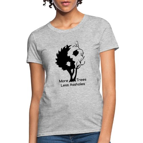 Yin Yang tree MTLA - Women's T-Shirt