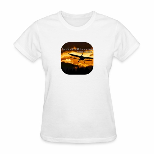 "InovativObsesion ""TAKE FLIGHT"" apparel - Women's T-Shirt"