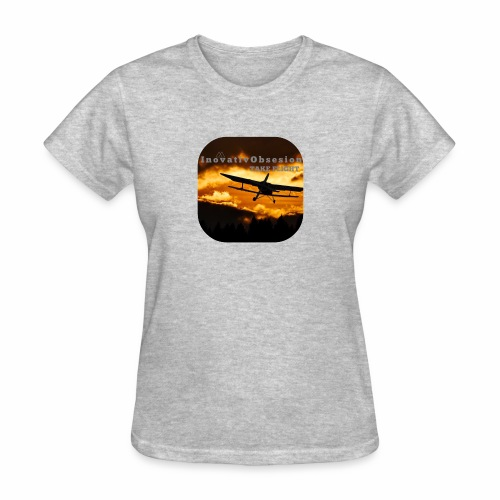 "InovativObsesion ""TAKE FLIGHT"" apparel - Women's T-Shirt"