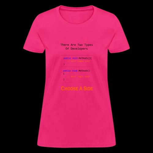 Code Styling Preference Shirt - Women's T-Shirt