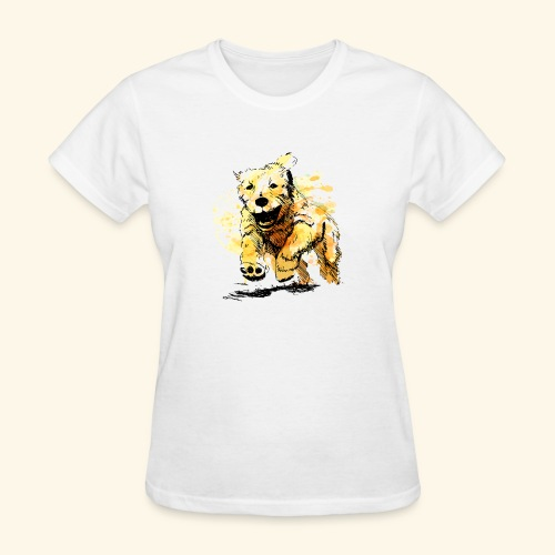oil dog - Women's T-Shirt