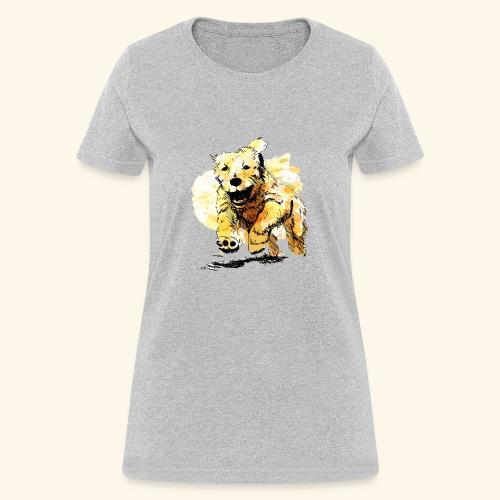 oil dog - Women's T-Shirt
