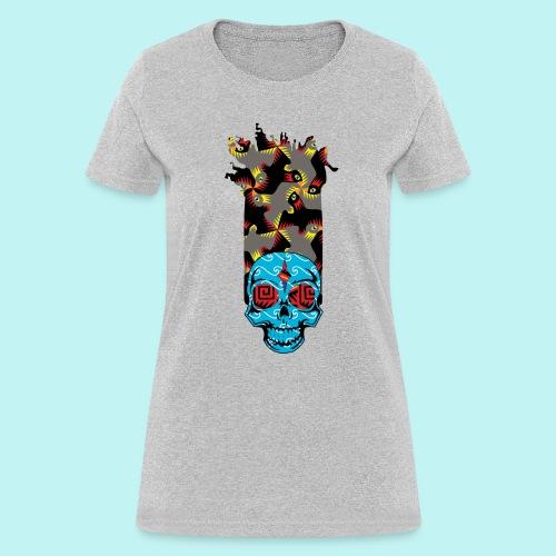 90s KID SKULLY - Women's T-Shirt