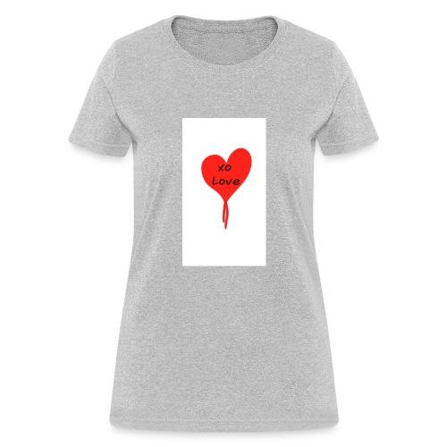 Give Love - Women's T-Shirt