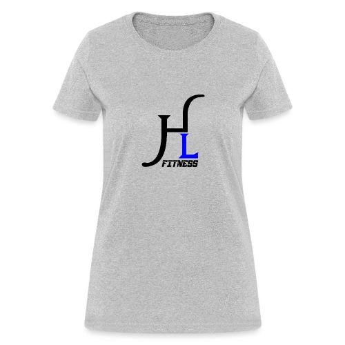 HIIT Life Fitness Blue - Women's T-Shirt
