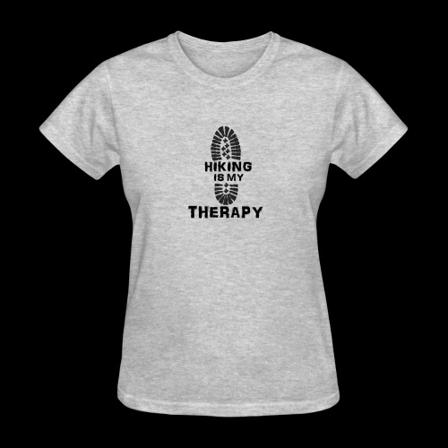 Hiking Is My Therapy - Women's T-Shirt