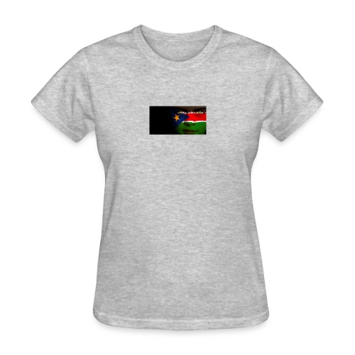 south sudan flag - Women's T-Shirt