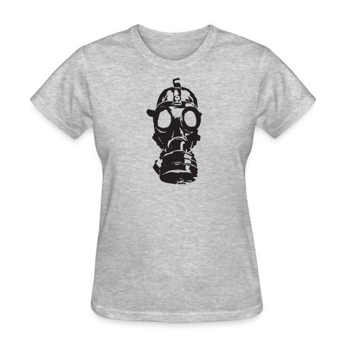 Gas Mask (Mello Jr.) - Women's T-Shirt