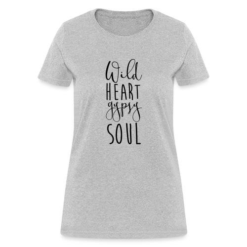 Cosmos 'Wild Heart Gypsy Sould' - Women's T-Shirt