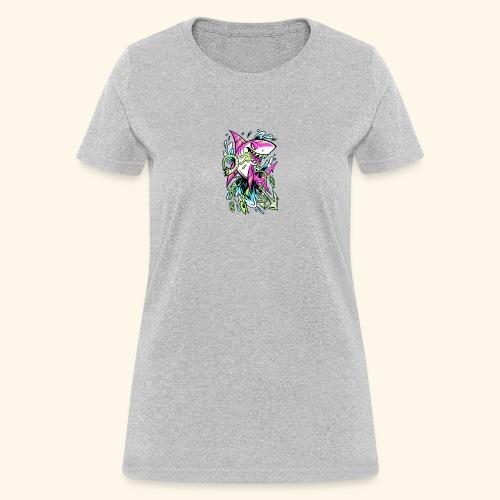 Grime Pop Shark - Women's T-Shirt