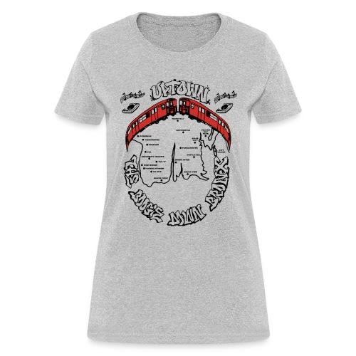 (artwork_195348) THE BOOGIE DOWN BRONX - Women's T-Shirt
