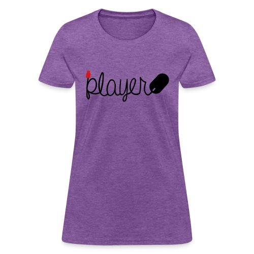 Player-Black - Women's T-Shirt