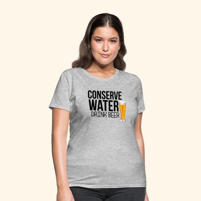 CONSERVE WATER DRINK BEER TEE