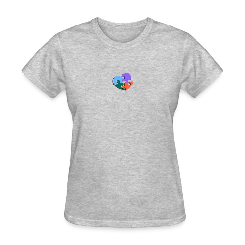 puzzle pieces - Women's T-Shirt