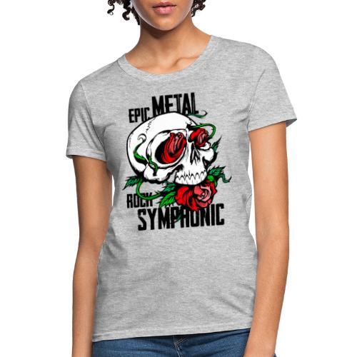 epic rock symphonic - Women's T-Shirt