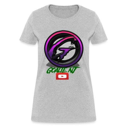 goalie nj logo - Women's T-Shirt