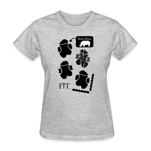 Rhino Algorithm (Light) - Women's T-Shirt