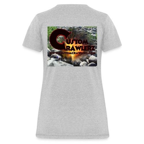 Custom Crawlerz Logo Explosive Rocks tight 2018 - Women's T-Shirt