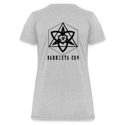 DarkZeta New Logo_AHDBL - Women's T-Shirt