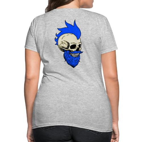 Matty Mohawk Skull - Women's T-Shirt