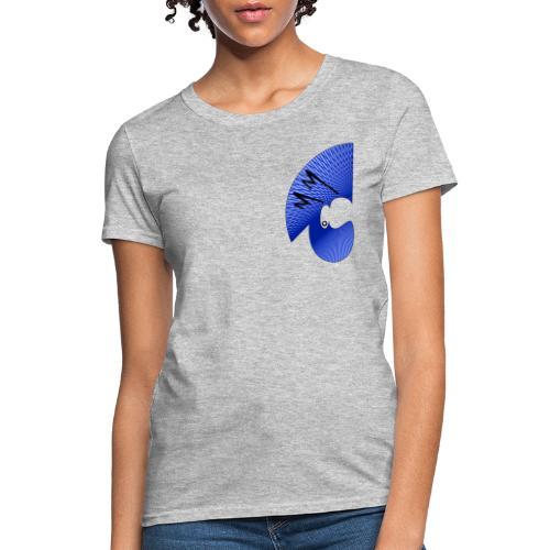 Matty Mohawk Logo & Skull - Women's T-Shirt