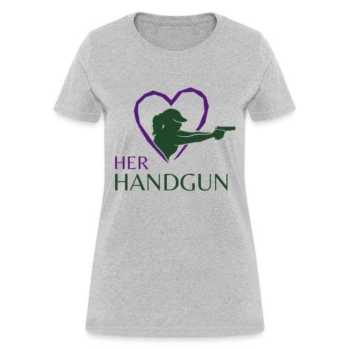 Official HerHandgun Logo - Women's T-Shirt