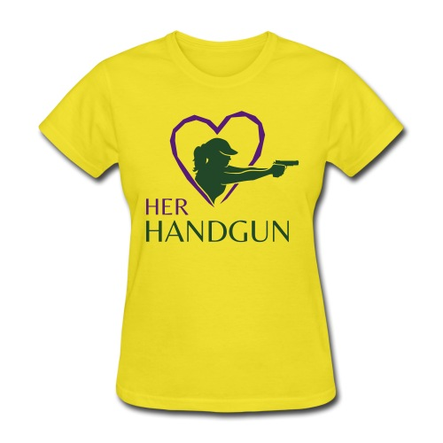 Official HerHandgun Logo - Women's T-Shirt