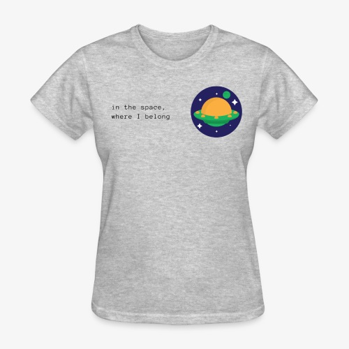 Space ship - Women's T-Shirt