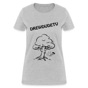 BOY FALLS FROM TREE - Women's T-Shirt
