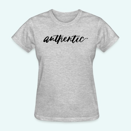 Live Authentic - Women's T-Shirt