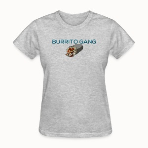 Burrito Gang Bottom Logo Shirt - Women's T-Shirt