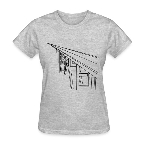 Bridge Vector - Women's T-Shirt