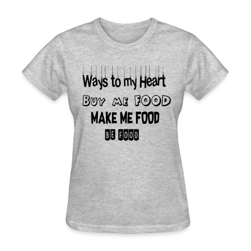Who loves food ? - Women's T-Shirt