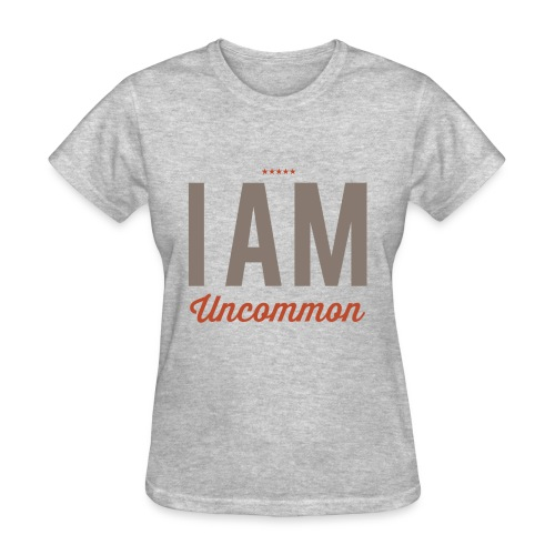 I Am Uncommon - Women's T-Shirt