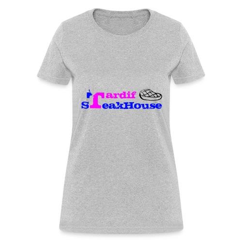 Tardif SteakHouse Blue Pink - Women's T-Shirt