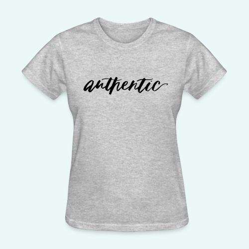 Live Authentic - Women's T-Shirt