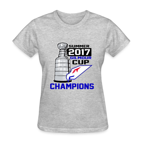 Intangibles Summer 17 Gilmour Cup Champs T-Shirt - Women's T-Shirt