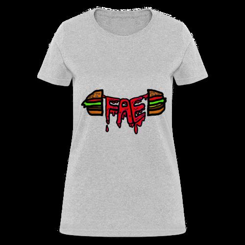 Fae logo - Burger - Women's T-Shirt