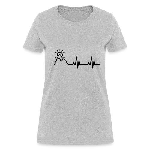 Heartbeat of a Traveler - Women's T-Shirt