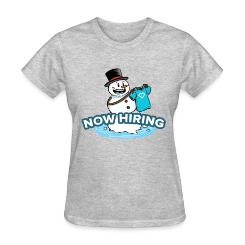 Snow Man Job Fair - Women's T-Shirt
